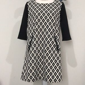 Anthropologie THML patterned dress